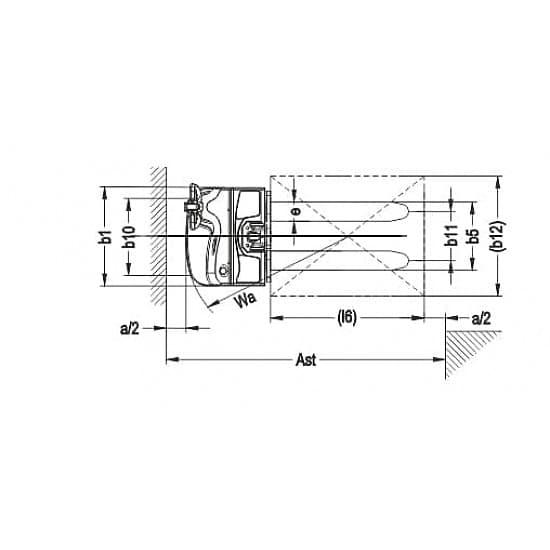 CDDRD10 одностоечный электроштабелер г/п 1000 кг