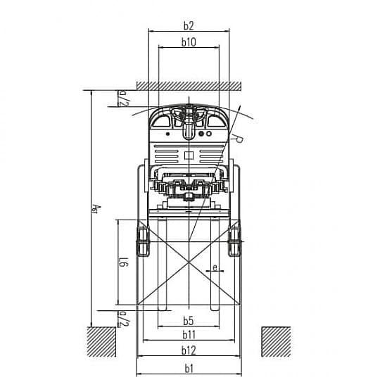 CQDH15A-II с одиночными ножницами, г/п 1500 кг, в/п 6 м