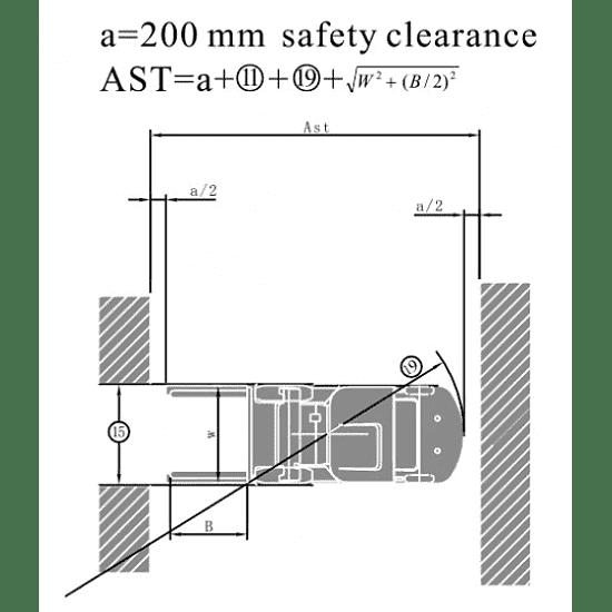 FD15T-M дизельный погрузчик г/п 1500 кг, в/п 3000 мм