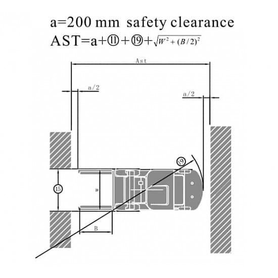 FGL25T-M газ-бензиновый погрузчик г/п 2500 кг, в/п 3000 мм