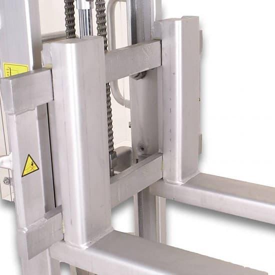 ALFA M INOX г/п 500/1000 кг, высота подъема 1600 мм