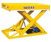 DG01 стационарный подъёмный стол с электроподъемом