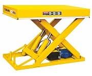 DG04 стационарный подъёмный стол с электроподъемом
