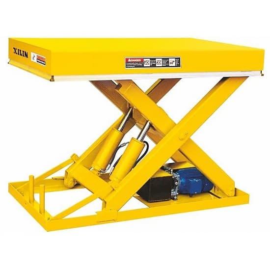 DG03 стационарный подъёмный стол с электроподъемом