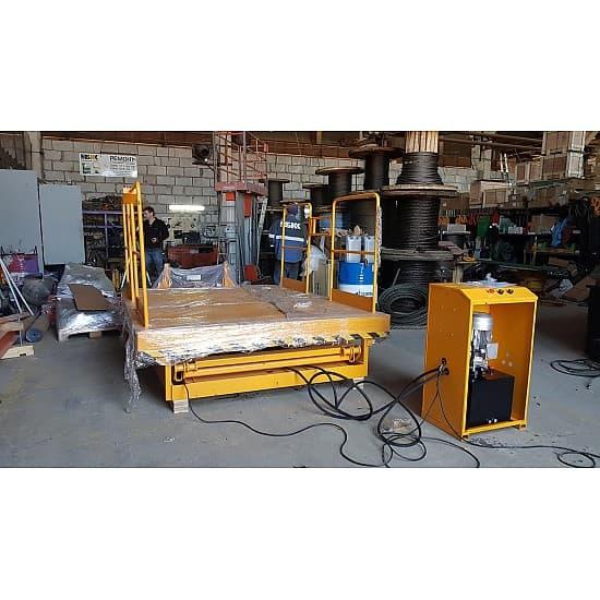 DGS20 стационарный подъёмный стол с электроподъемом (в/п 3500 мм)