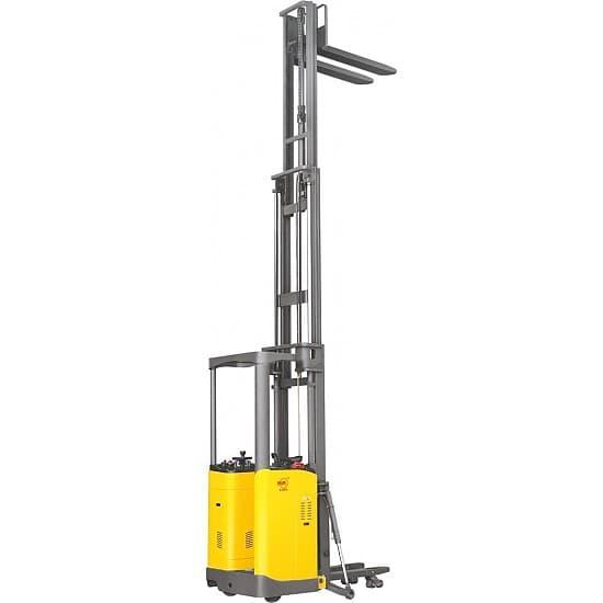 CDD15C самоходный электроштабелер г/п 1500 кг, высота подъема до 5,6 м
