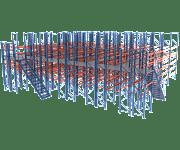 Мезонинные стеллажи (мезонин)